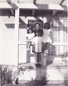 mom Teresa Chris and boy at Faustino's house